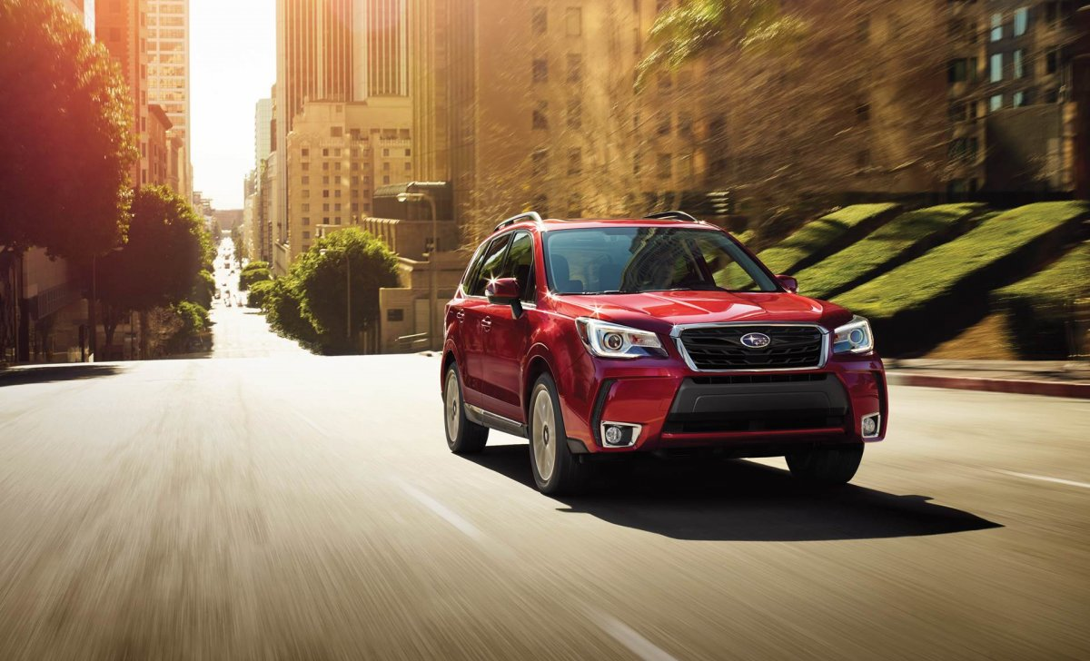 Subaru Forester 2018 - car insurance rates - 2.0XT Touring shown in Venetian Red Pearl