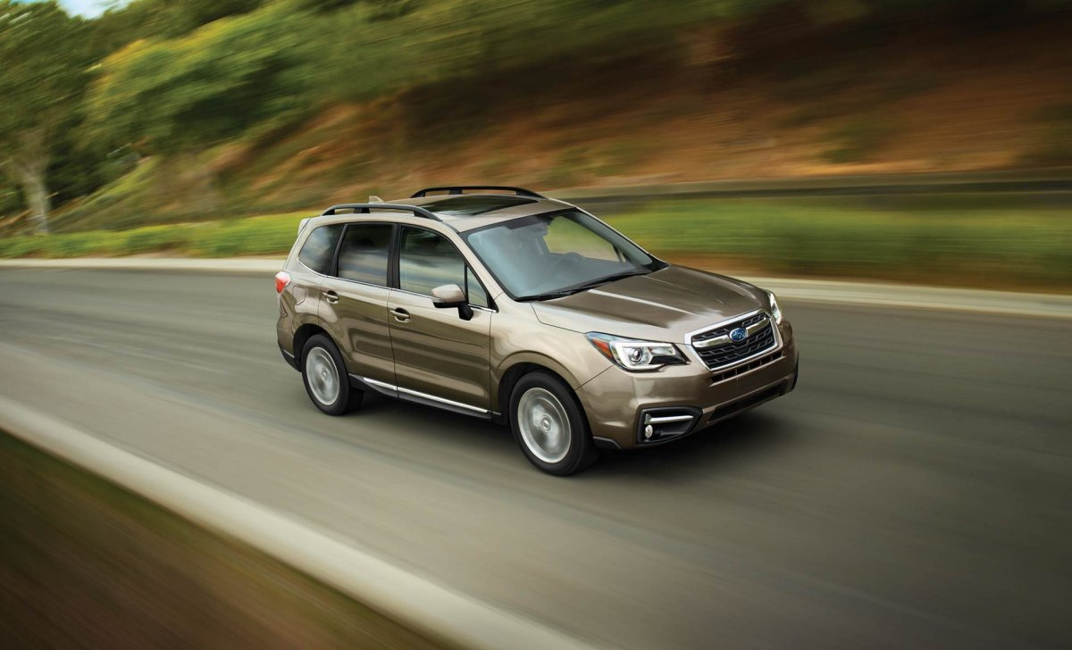 Subaru Forester 2018 - car insurance rates - 2.5i Touring shown in Sepia Bronze Metallic with available EyeSight® Driver Assist Technology-2