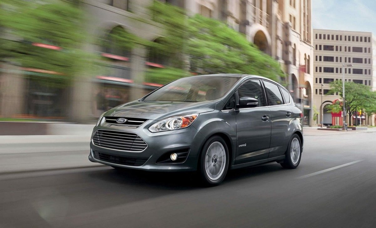 Ford C-Max Hybrid 2018 - car insurance - grey color SE