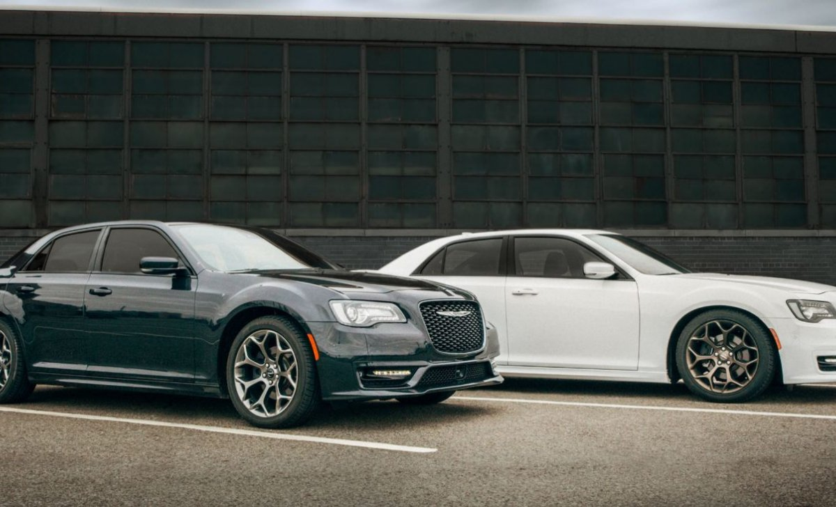2018 Chrysler 300 - car insurance rates - white and grey