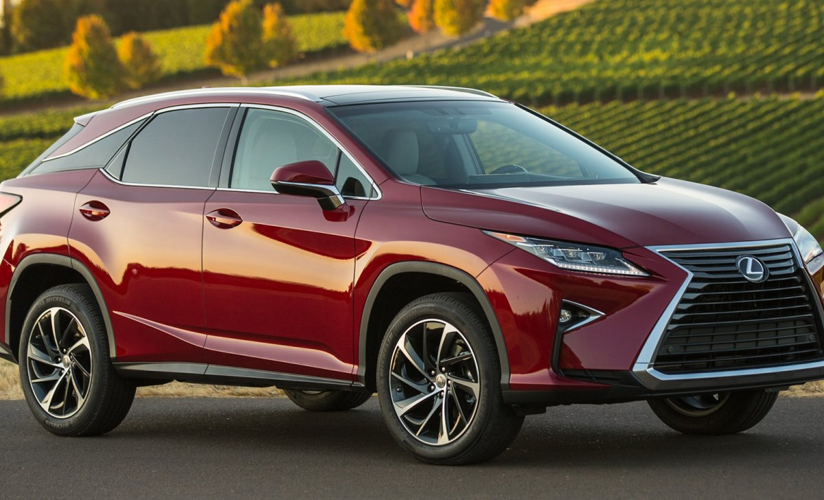 Lexus RX - 350 - car insurance quotes - red color front view side