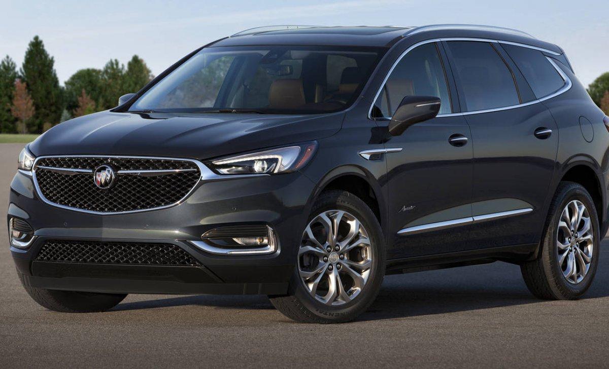 Buick Enclave 2018 - Car insurance rates - front - side view, tiers