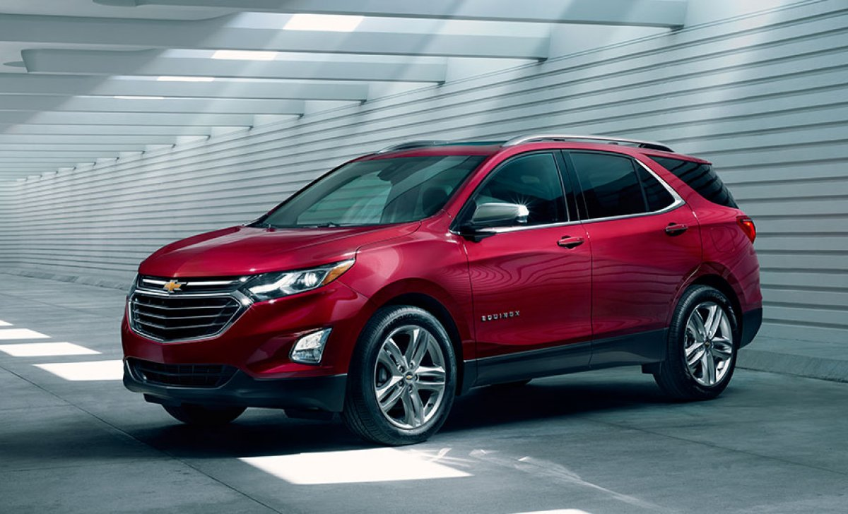 2018 Chevrolet Equinox - car insurance - red color front view
