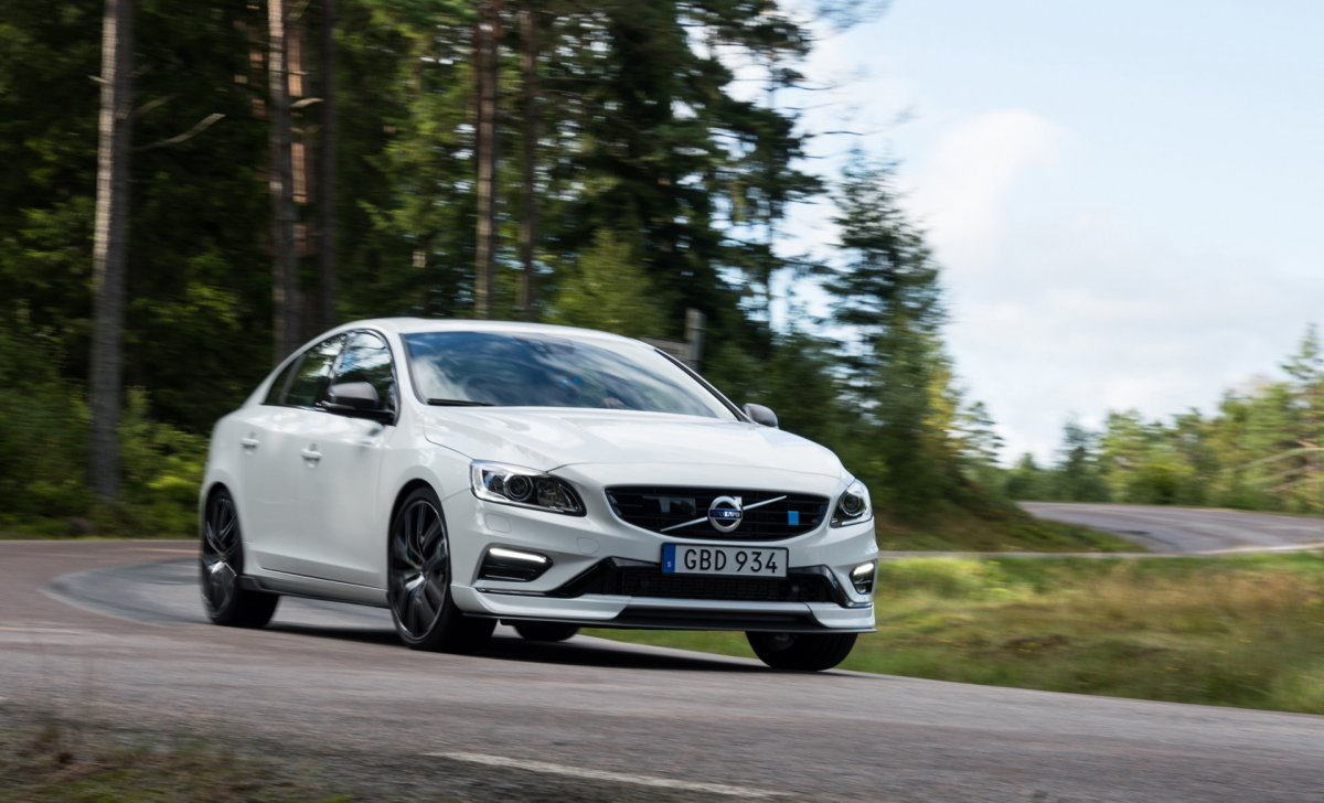 2018 Volvo - car insurance for S6 and V60 - white on the road