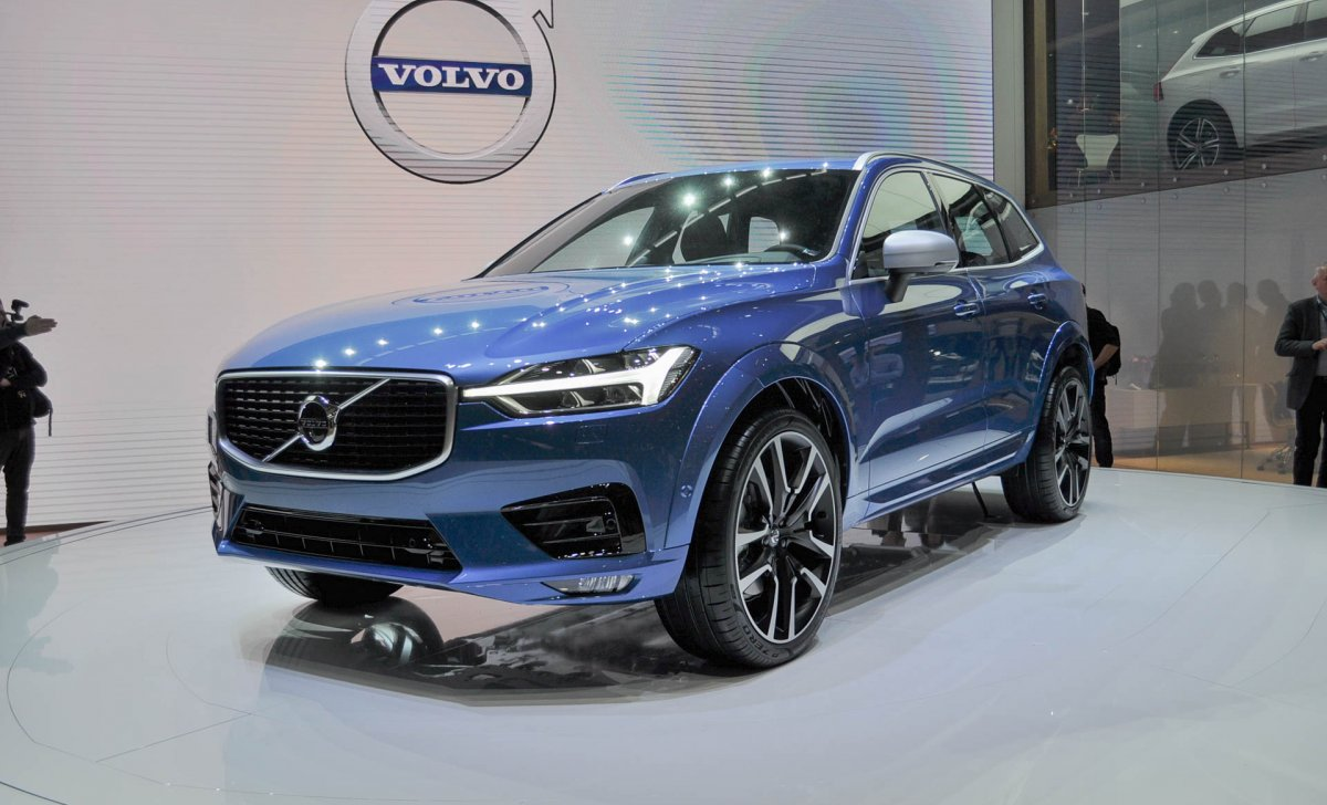 2018 Volvo - car insurance for XC-60 blue inside, garage, expo, nice color, clean
