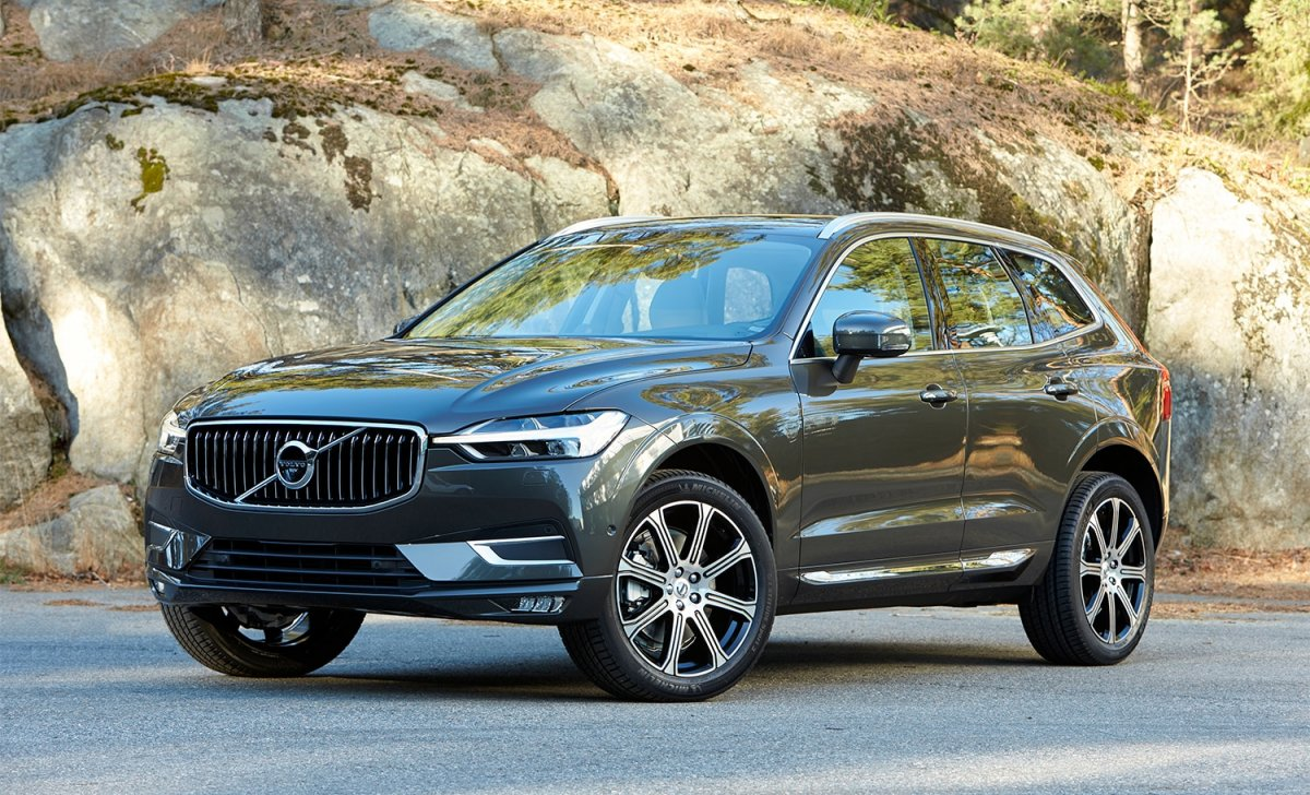 2018 Volvo - car insurance for XC 60 front look exteriro on the road parking