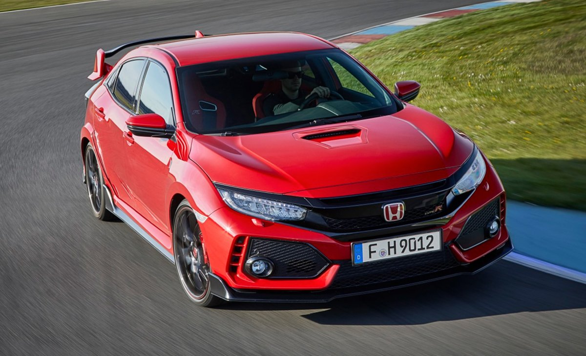 Honda Civic 2018 - car insurance - red circuit