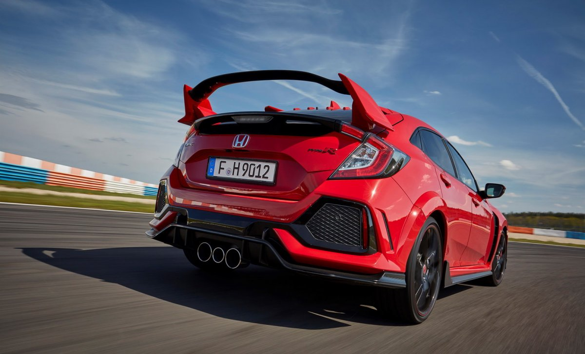 Honda Civic 2018 - car insurance - Civic Sport, Tunning on Circuit