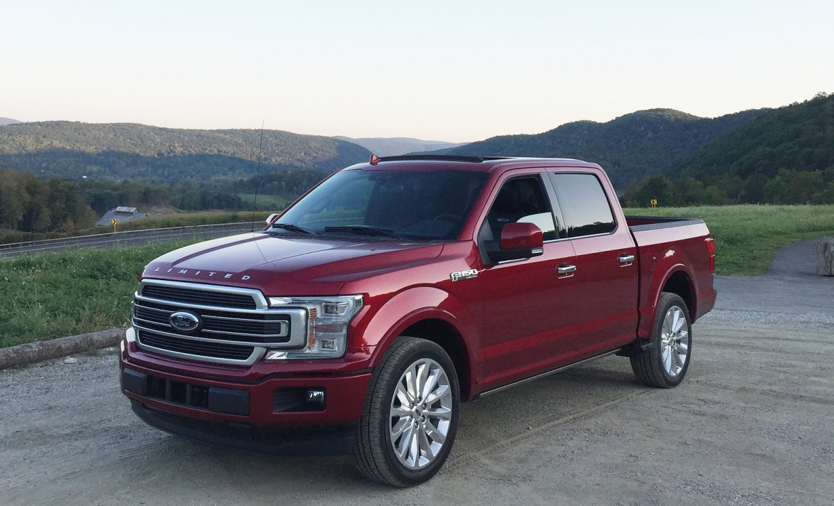 2018 Ford F-150 Limited - car insurance - purple f150 front side view