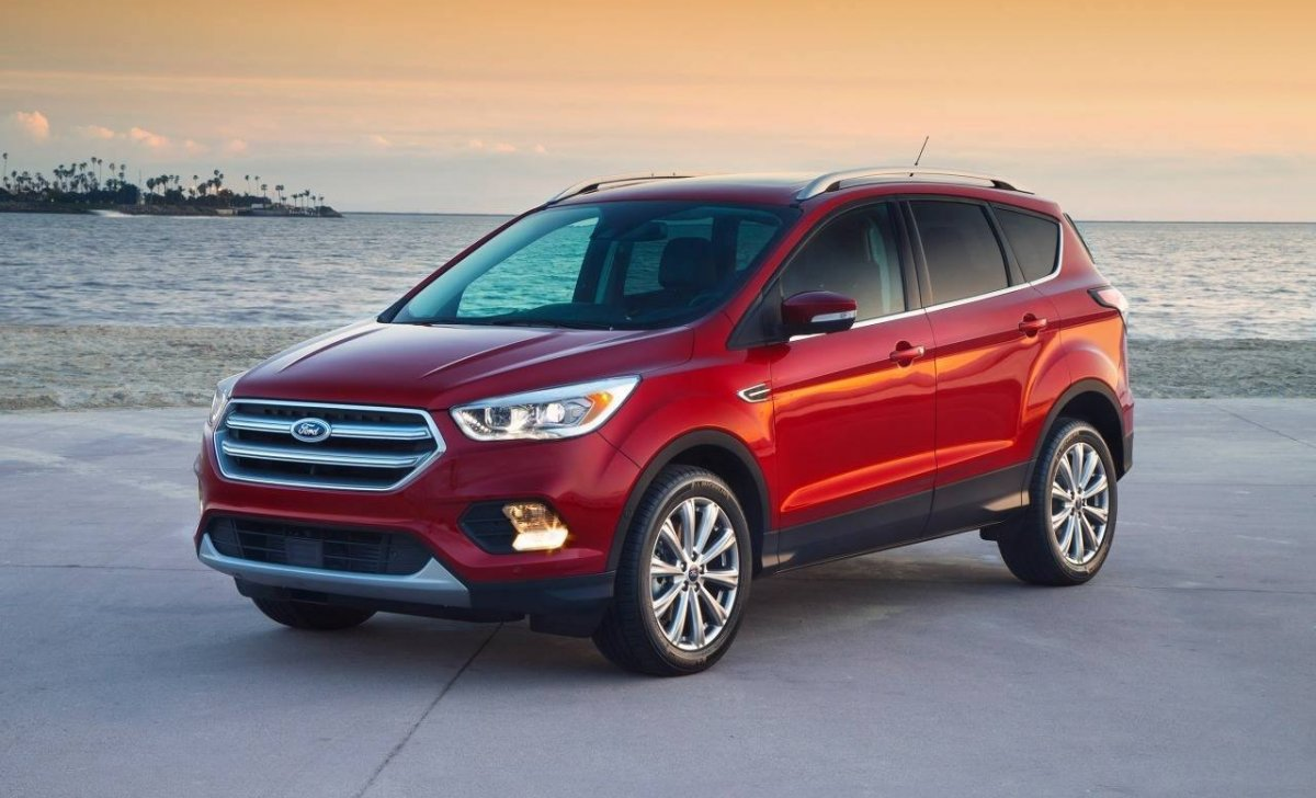 Ford Escape 2018 - car insurance - red color front
